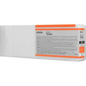 C13T636A00 Epson Bläck 700 ml Orange